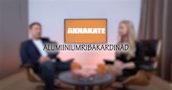 Alumiiniumribakardinad
