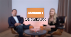 Bambusrulood / bambuskardinad